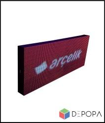 32x160 CM FULL RENK RGB KAYAN YAZI - Thumbnail