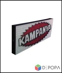 80x160 CM FULL RENK RGB KAYAN YAZI - Thumbnail