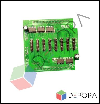 HD HUB75B-8 (Yeşil) Kontrol Kartı Hubı