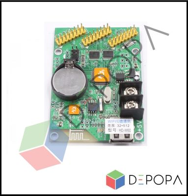 HD W60 Tek Renk Kontrol Kartı
