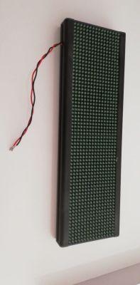 P7,62 HAT GÜZERGAH TABELASI (DIP LED-Sarı)